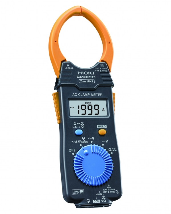 CM3291 AC CLAMP METER, 2000A AC, TRMS, CATIV 300V