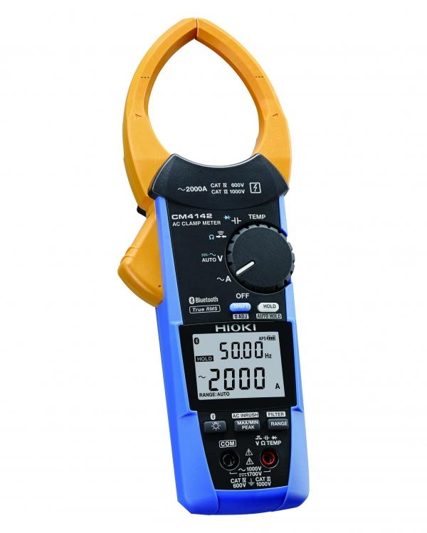 CM4142 AC CLAMP METER, 2000A AC, TRMS, CATIV 600V (Bluetooth®)
