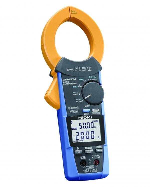 CM4374 TESTER CLAMP AC/DC TRMS 2000A 1500V CAT IV 600V (Bluetooth®)