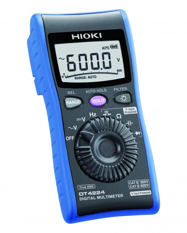 DT4224 MULTIMETER DIGITAL V/ohm/Hz TRMS CATIV 300V