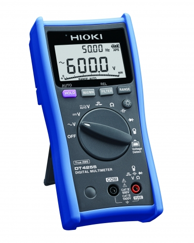DT4255 MULTIMETER DIGITAL V/A/ohm/Hz TRMS CATIV 600V