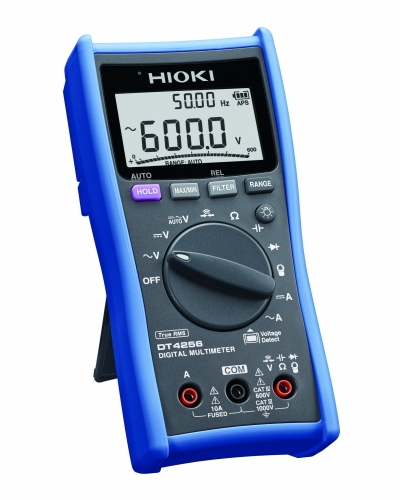 DT4256 MULTIMETER DIGITAL V/A/ohm/Hz TRMS CATIV 600V