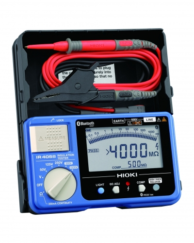 IR4058-20 Insulation Tester built in Bluetooth(R) wireless technology