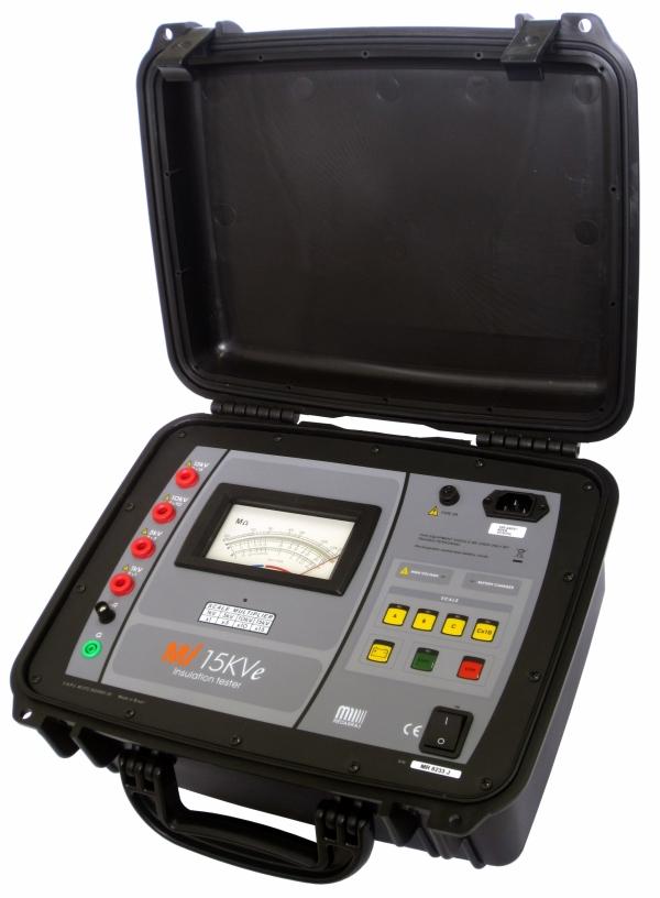 MI-15KVe Insulation Tester15kV, 3Tohm, Analogue, High Voltage