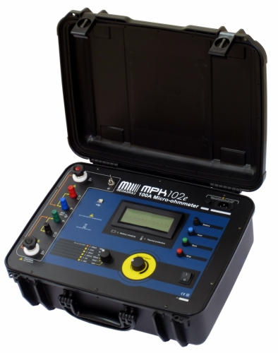 MPK-102e 100A Micro-ohmmeter 0.1microohm resolution