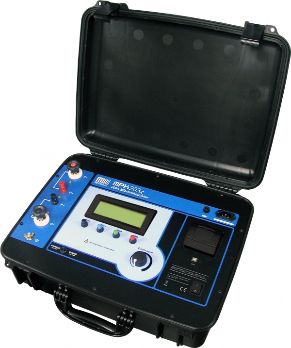 MPK-203x 200A Micro-ohmmeter 0.1microohm resolution