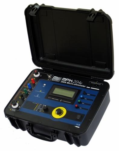 MPK-204e 200A Micro-ohmmeter 0.1microohm resolution