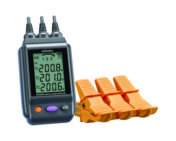 PD3259 PHASE DETECTOR, DIGITAL, 90-520V, CAT III 600V, 6-30mm Dia