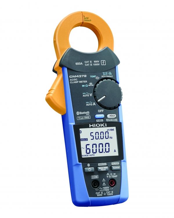 CM4372 TESTER CLAMP AC/DC TRMS 600A 1500V CAT IV 600V (Bluetooth®)