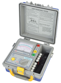 PA2105ER TESTER EARTH RESISTANCE ANALOGUE 2 OR 3 TERMINAL