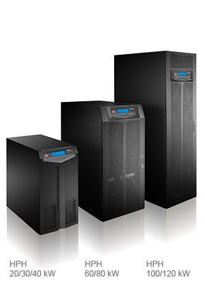 Delta HPH B Series 3 Phase Tower UPS with in-built batteries 40kVA/40kW