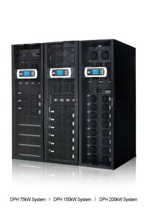 Delta DPH Series Modular UPS 150kVA/150kW with 25kVA/25kW Power Modules