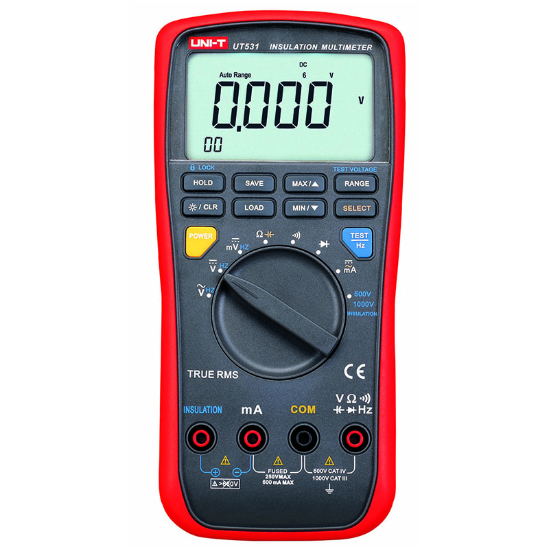 UT531 Insulation Resistance Multimeter