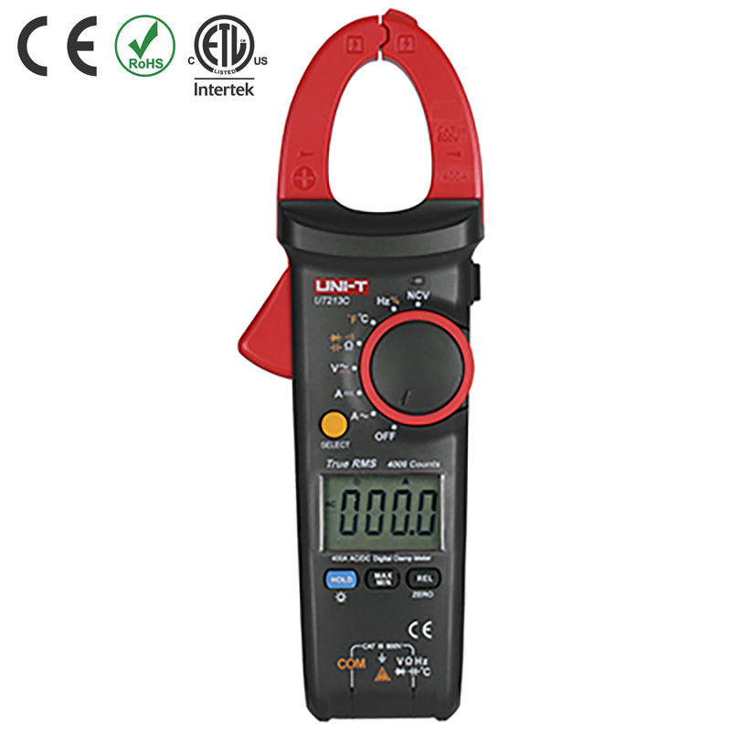 UT213C TESTER CLAMP DIGITAL 40/400A AC/DC  AC/DCV CAT III 600V