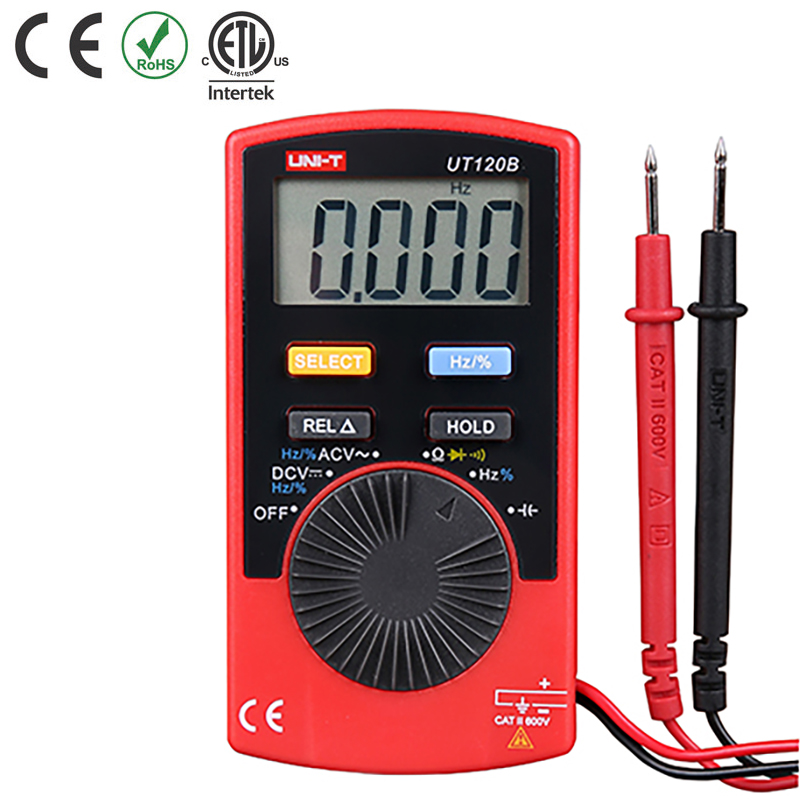 UT120B Pocket Size Digital Multimeter