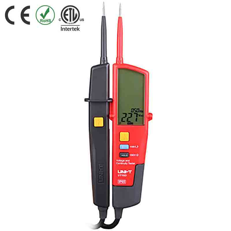 UT18D TESTER VOLTAGE CONT/LCD CAT IV 600V IP65