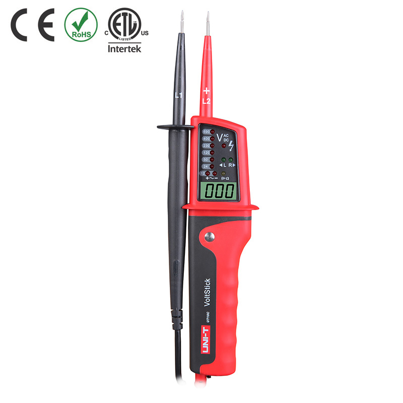 UT15C TESTER VOLTAGE PROBE LED/DIGITAL CATIV 600V