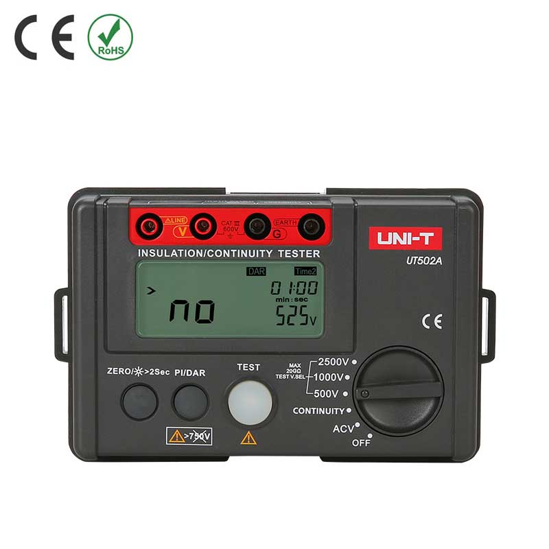 UT502A TESTER INSULATION DIGITAL 2500V CONTINUITY