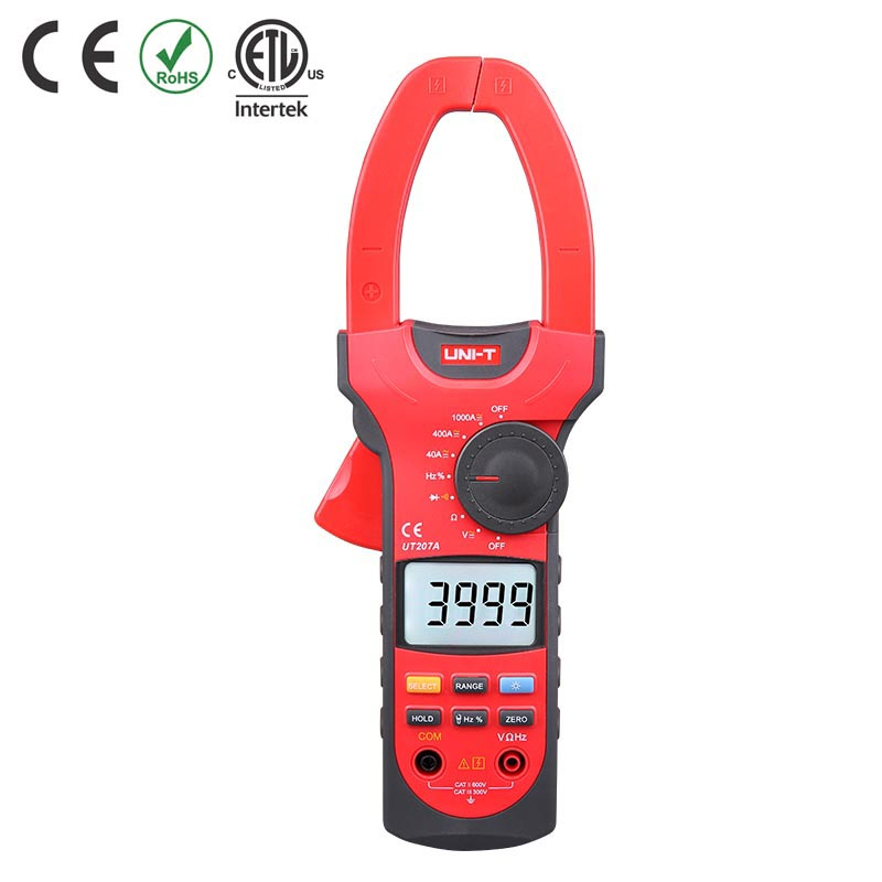 UT207A TESTER CLAMP DIGITAL AC/DC 55MM JAW SIZE