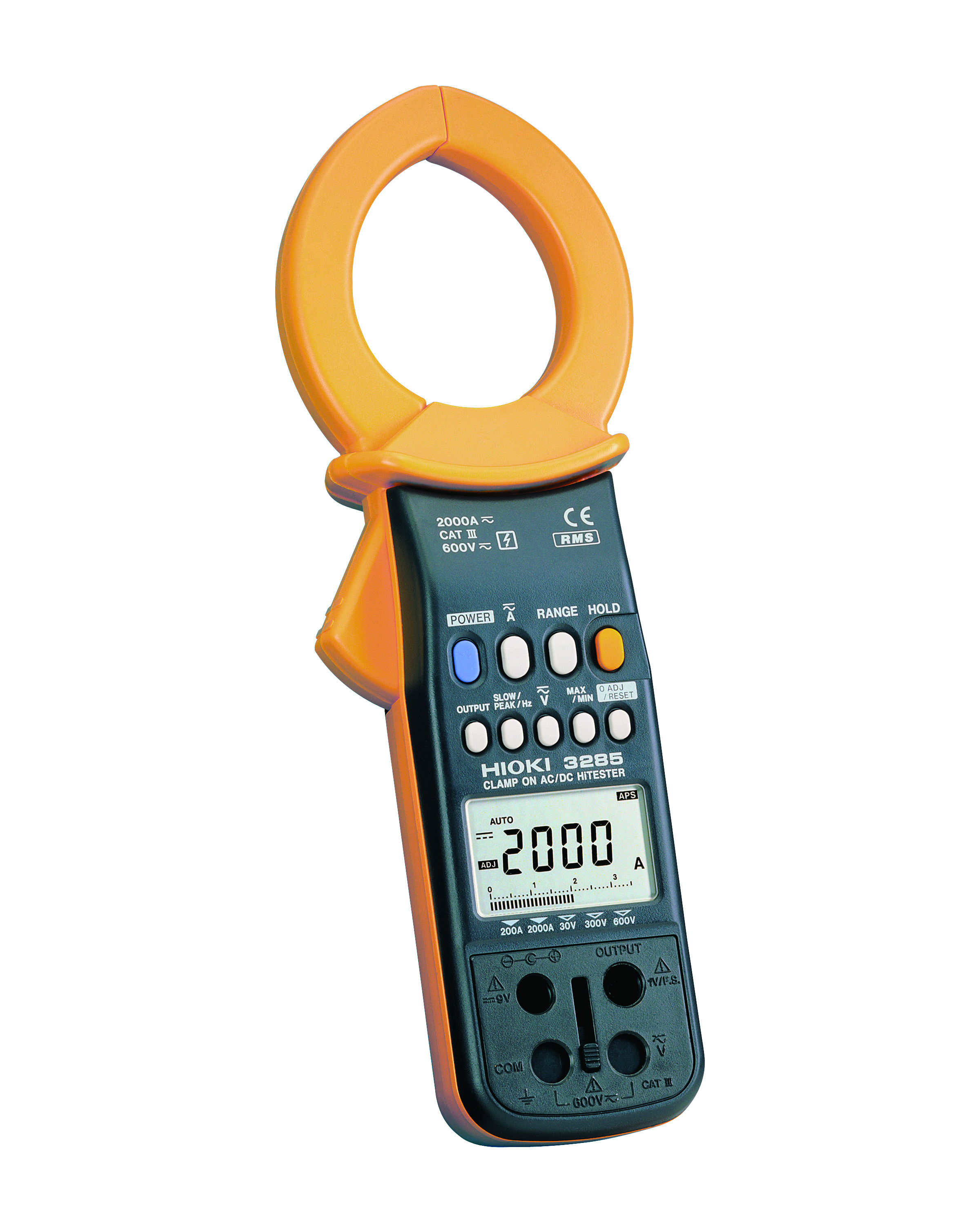 3285 Clamp Tester, 2000A AC/DC, TRMS, CAT III 600V