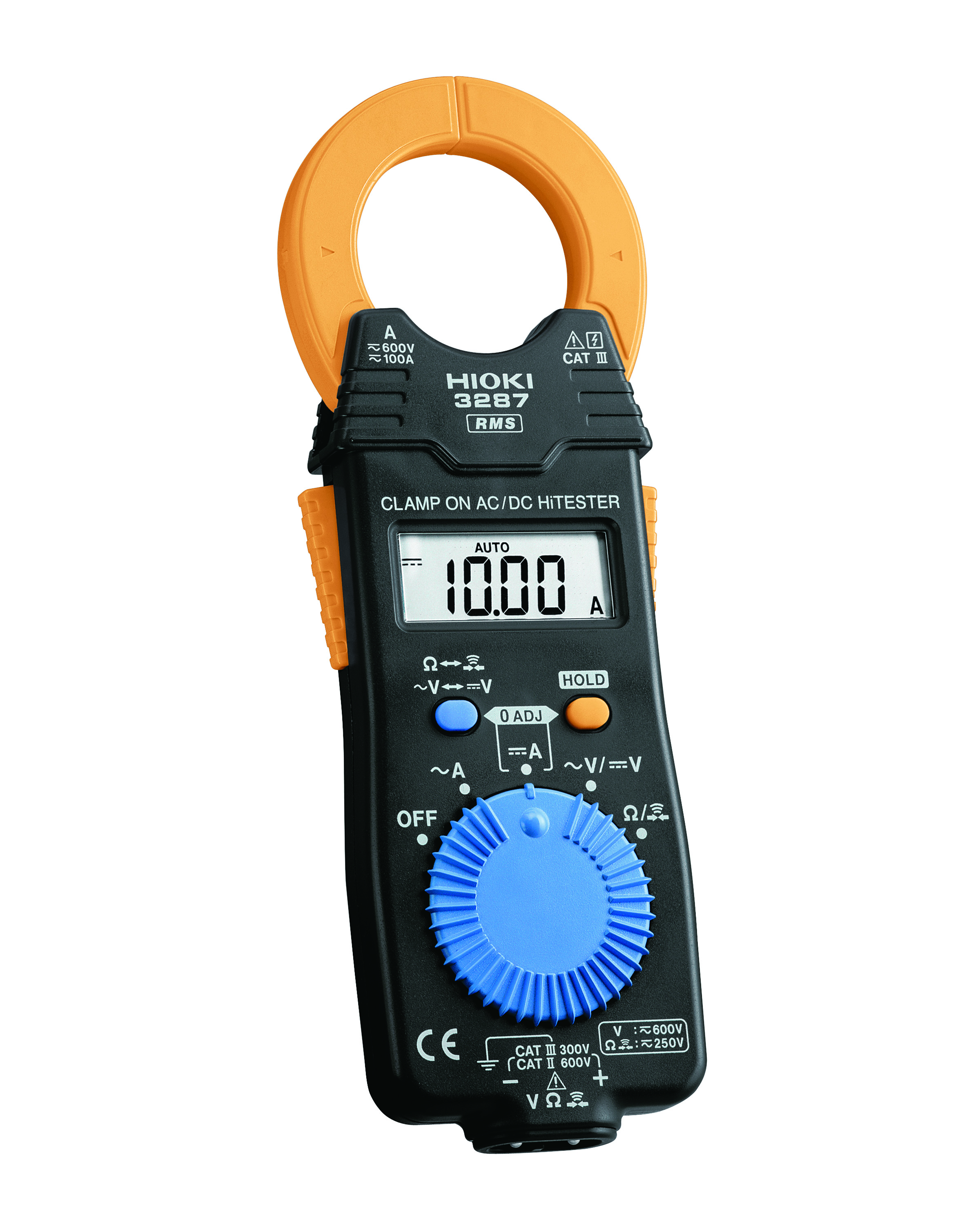 3287 Clamp Tester, 100A AC/DC, TRMS, CAT III 600V