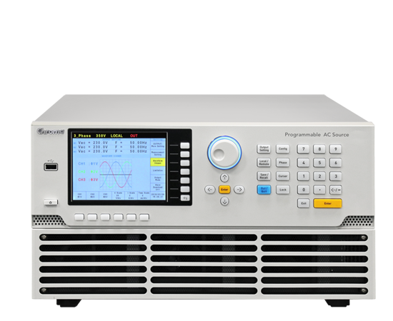 61600 Series Single-phase or three-phase output selectable AC Power supply