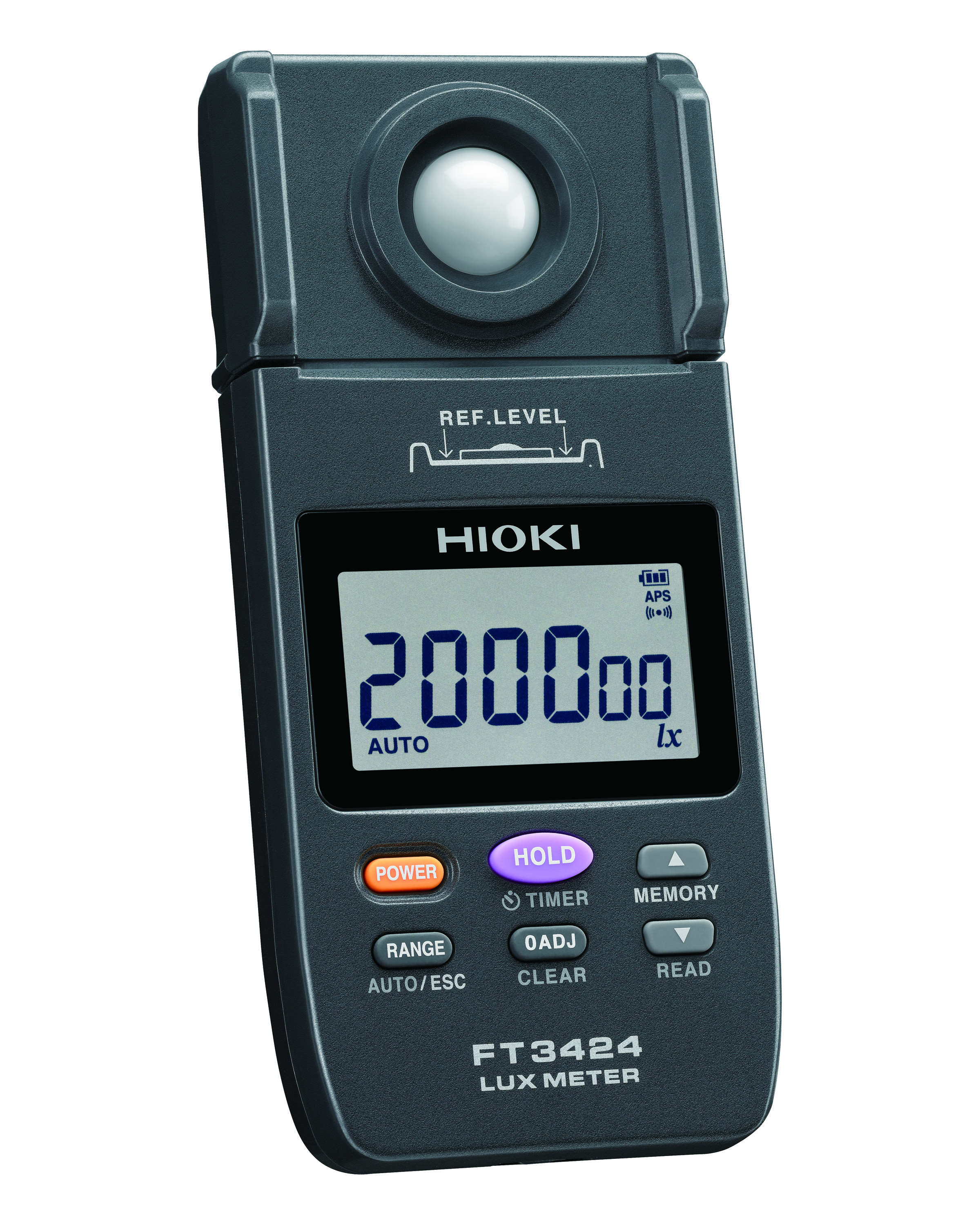 FT3424 LUX METER LIGHT DIGITAL 200,000 LUX.