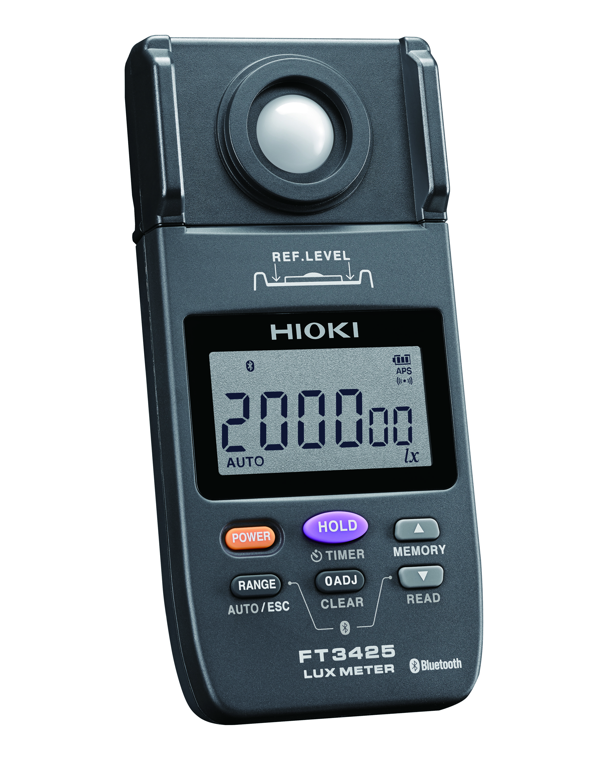 FT3425 LUX METER LIGHT DIGITAL 200,000 LUX. (Built in Bluetooth(R) wireless technology)
