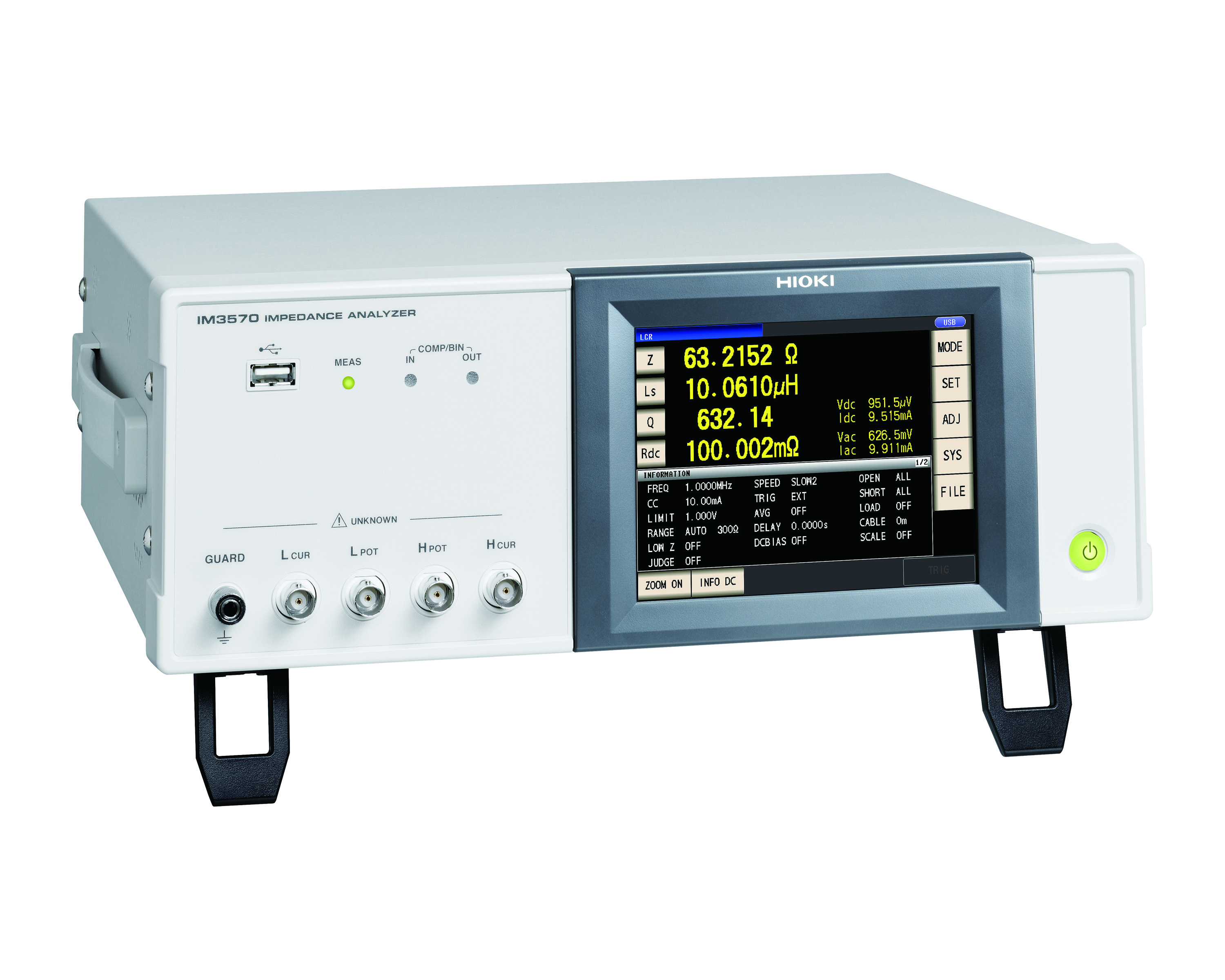 IM3570 Impedance Analyzer