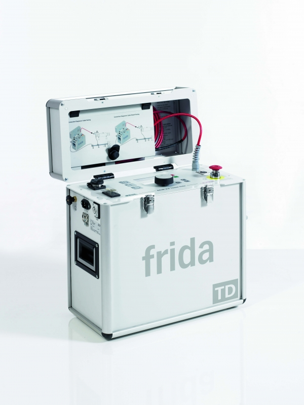 Baur frida VLF testing and diagnostics unit with dissipation factor measurment