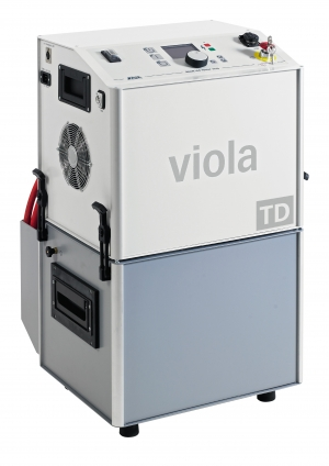 Baur viola VLF testing and diagnostics unit with dissipation factor measurment