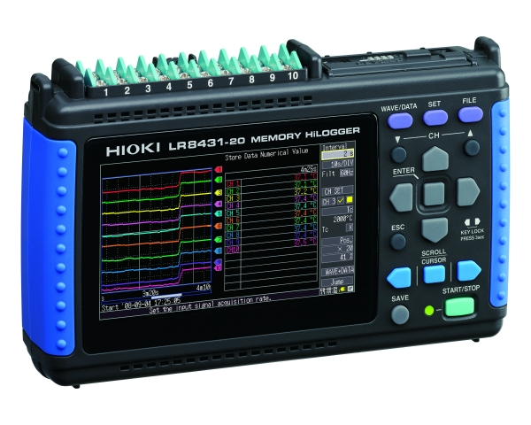 LR8431-20 10 channel Memory HiLogger