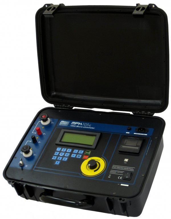 MPK-105x 100A Micro-ohmmeter 0.1microohm resolution