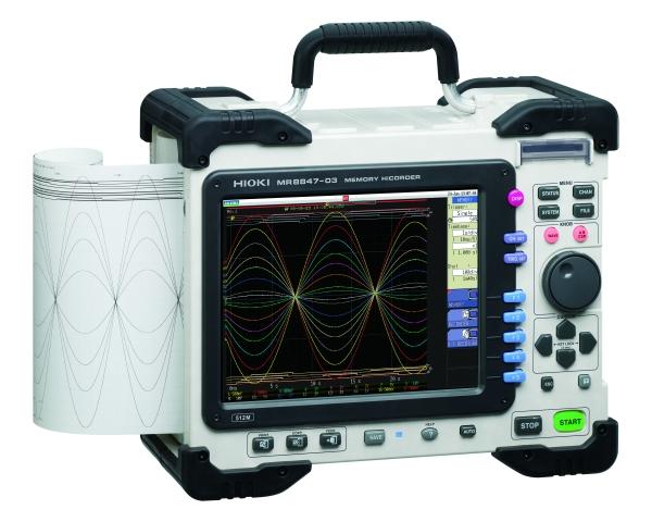 MR8847 16CH High Speed Memory HiCorder/ Oscilloscope