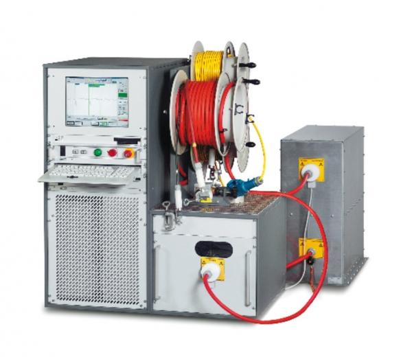 Baur PHG70TD-PD VLF diagnostics system with dissipation factor & partial discharge measurment
