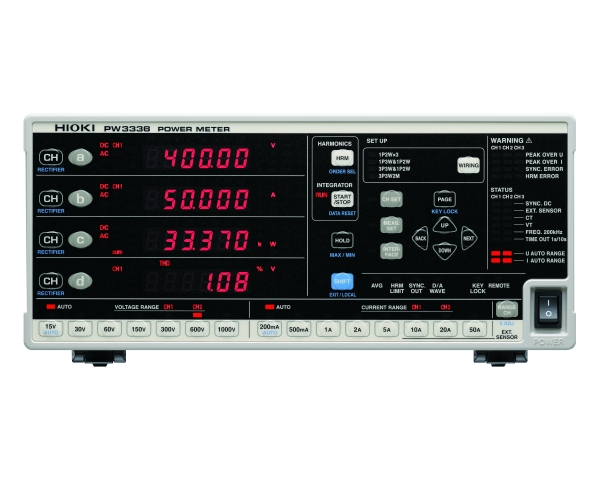 PW3336, 2 Channel Power Meter