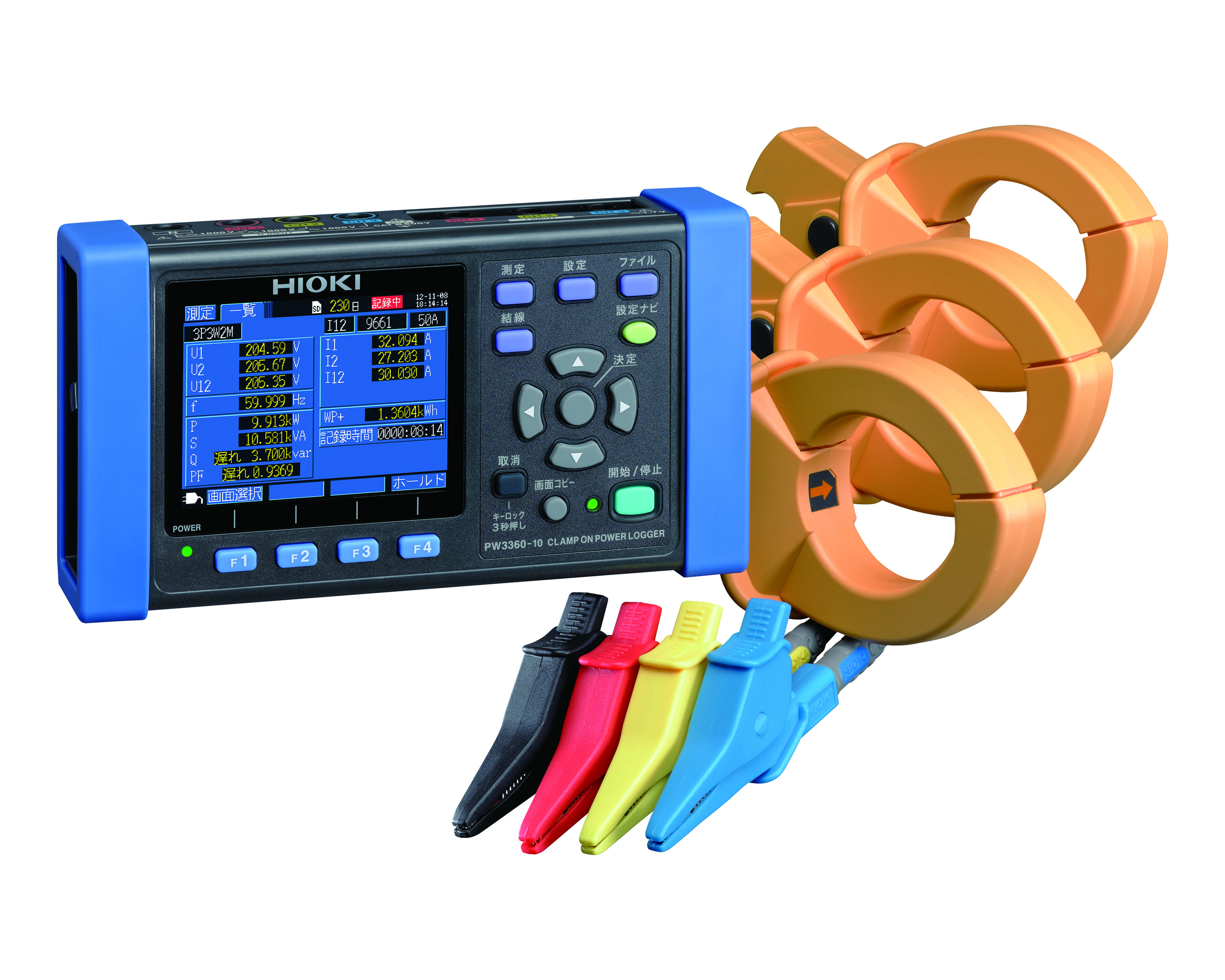 PW3360-20 Clamp On Power Logger