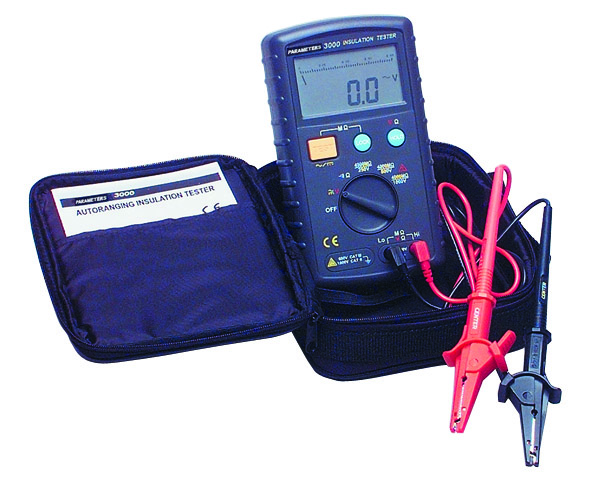 PA3000 TESTER INSULATION 1000V DIGITAL CATIII 600V