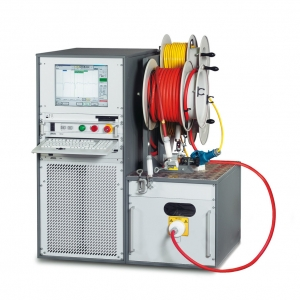 Baur PHG 80TD VLF diagnostics system with dissipation factor measurement