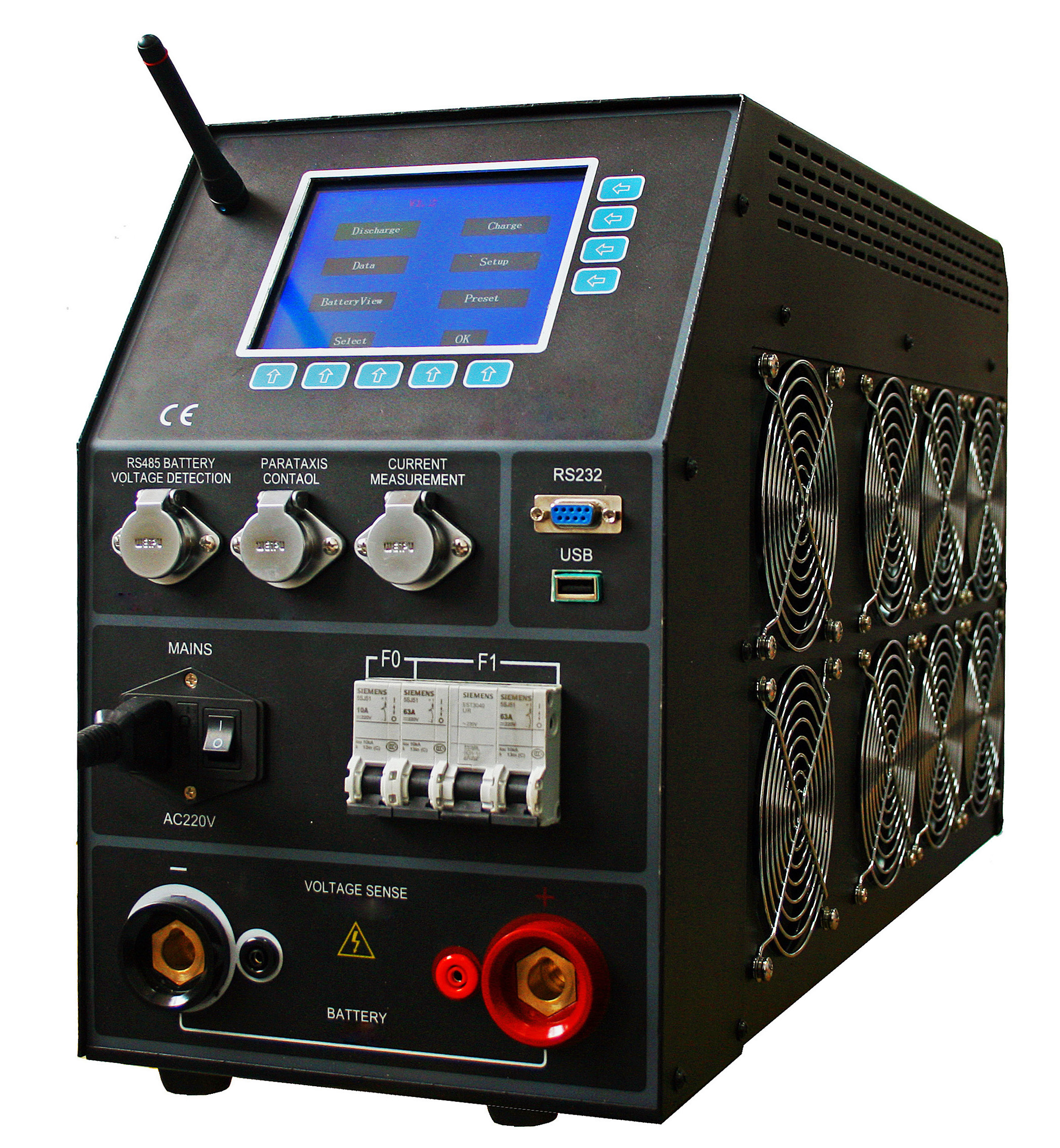 IDCE-840CT Battery Discharger & Capacity Tester (with WX-2612)