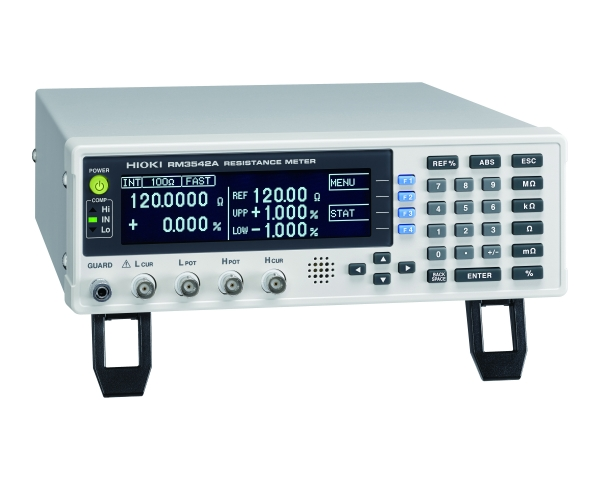 RM3542A RESISTANCE METER - 100 mΩ to 1000 Ω range, 0.1 μΩ resolution