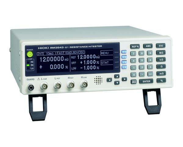 RM3543 Resistance HiTester - 10 mΩ to 1000 Ω range, 0.01 μΩ resolution