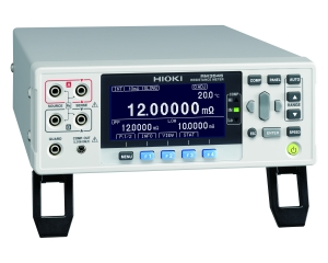 RM3545 Resistance Meter - 10 mΩ to 1000 MΩ range, 0.01 μΩ resolution