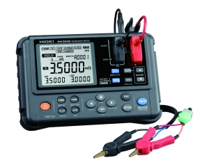 RM3548 Portable Resistance Meter - 3 mΩ to 3 MΩ range, 0.1 μΩ resolution