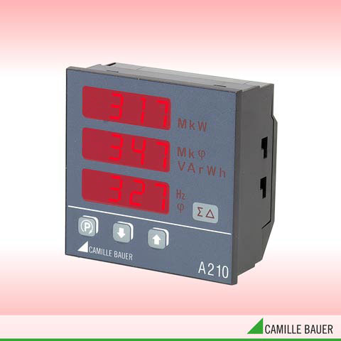 Camille Bauer SINEAX A210 Programmable Panel Meter