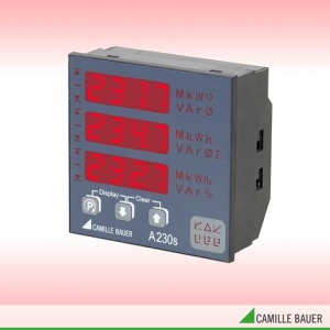 Camille Bauer SINEAX A230s Programmable Panel Meter