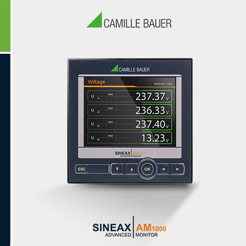 Camille Bauer SINEAX AM1000 Multifunction Transducer