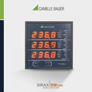 Camille Bauer SIRAX BM1400 Multifunction Programmable Power Monitor