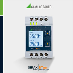 Camille Bauer SIRAX BT5300 Frequency Transducer