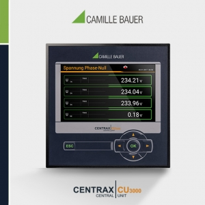 Camille Bauer CENTRAX CU3000 Multifunction Programmable Transducer with PLC function